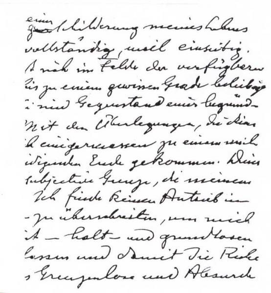 Handwriting sample: Jung