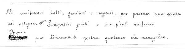 Handwriting sample: meticulous