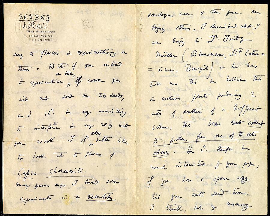 Correspondence of Charles Darwin