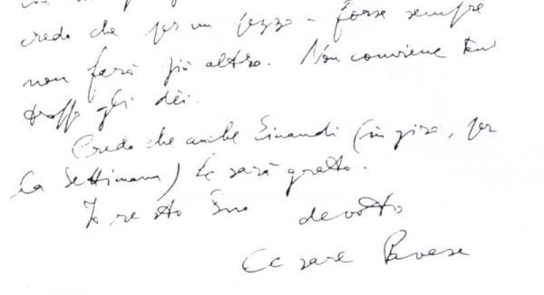Handwriting sample: impulsive affectivity in Rushing handwriting