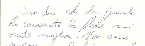 Handwriting: Randomly Uneven