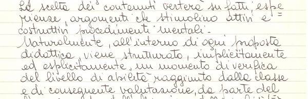Handwriting: Even