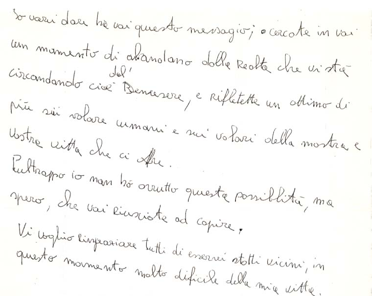 Handwriting Analysis – What Writing Above the Line Means